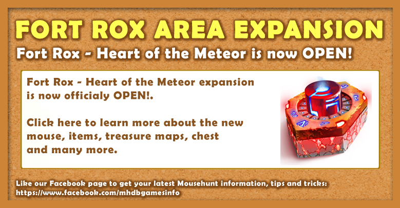 Fort Rox - Heart of the Meteor is now OPEN