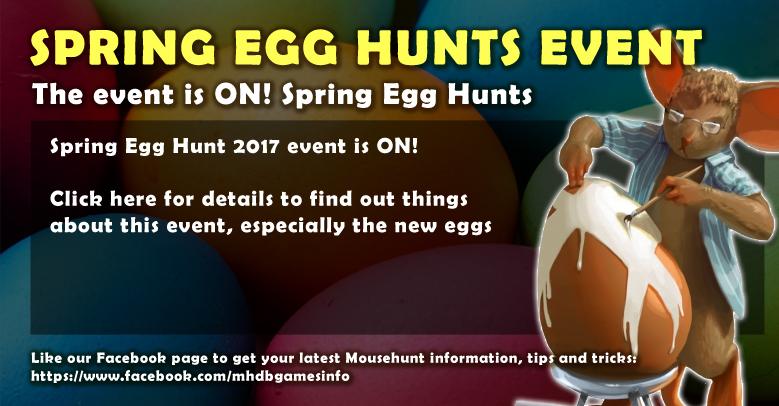 Spring Egg Hunt 2017 Event is ON