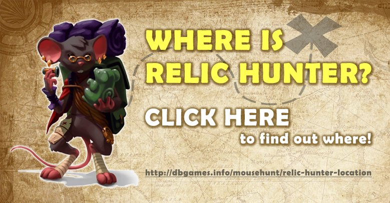 Relic Hunter Location