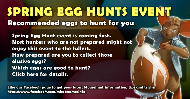 Recommended Eggs to hunt in Spring Egg Hunt 3