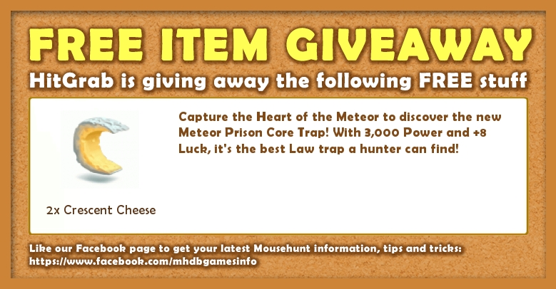 Giveaway: 21 March 2017 - Heart of the Meteor