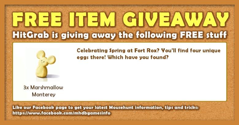 Giveaway: 13 April 2017 - Spring Egg Hunt