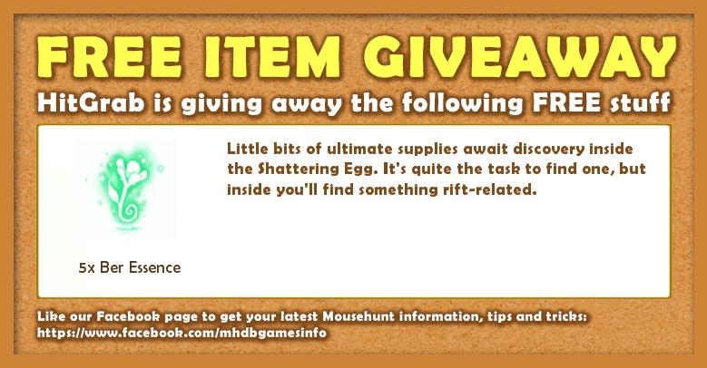 Giveaway: 24 April 2017 - Spring Egg Hunt