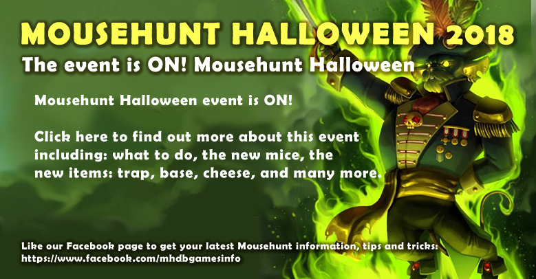 2020 Halloween Spooky Shuffle Mousehunt Mousehunt Halloween 2018 Event Guide   Mousehunt Walkthrough Guide