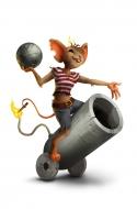 Barmy Gunner Mouse