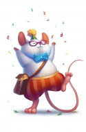 Cheesy Party Mouse