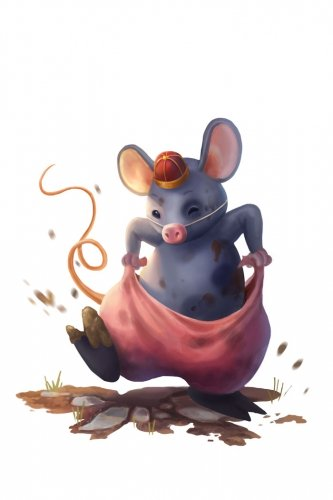 Costumed Pig Mouse