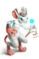 Amplified White Mouse