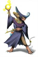 Black Mage Mouse