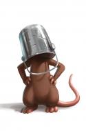 Buckethead Mouse