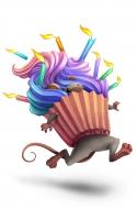 Cupcake Camo Mouse