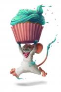 Cupcake Runner Mouse