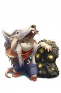 Meteorite Snacker Mouse