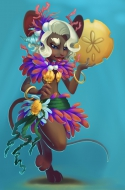 Sand Dollar Queen Mouse