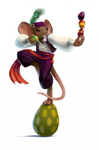 Eggsquisite Entertainer Mouse