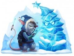 Iceberg Sculptor Mouse