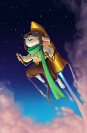 Rocketeer Mouse