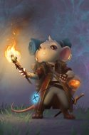 Timid Explorer Mouse