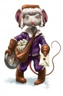 Confused Courier Mouse